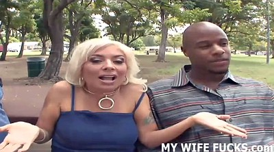Femdom cuckold, Young, Wife orgasms, But