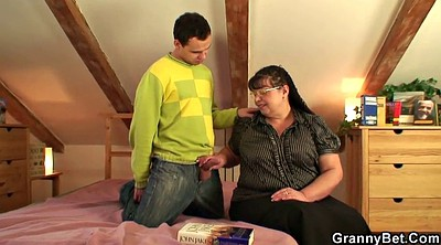 Old, Fat, Bbw granny, Fat old, Play, Old fat