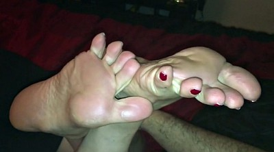Feet, Bottle, Footing, Milf feet, Stinky, Sweaty