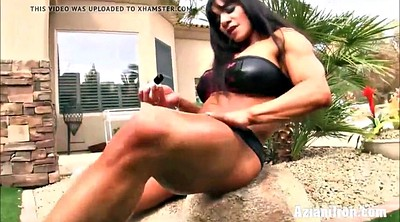 Big dildo, Milf mom, Fitness, Sexy mom, Mom masturbating, Mom hard