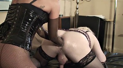 Double anal, Femdom fisting, Anal fist