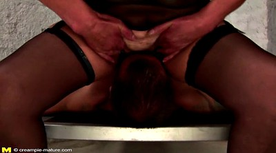 Granny bdsm, Creampie mature, Young creampie, Mature young