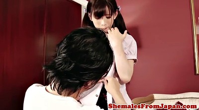 Japanese shemale, Japanese cosplay, Newhalf, Cosplay anal, Japanese anal masturbation