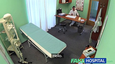 Czech amateur, Triple, Fakehospital, Doctor office