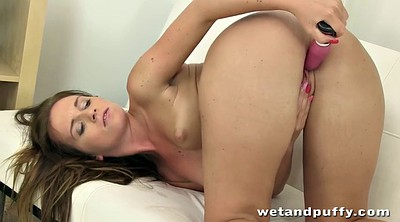 Anal toy, Gaping pussy