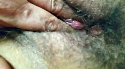 My wife, Hot wife, Big mature, Mature clit, Hairy big clit