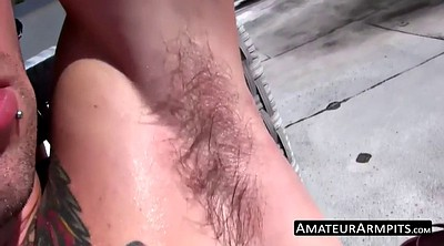 Armpit, Masturbation hairy