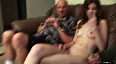 Tattoo, Old men, Old gay, Double blowjob