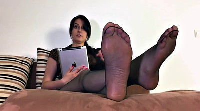 Nylon feet, Nylons, Nylon foot