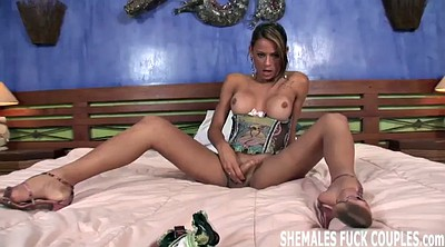 Bride, Shemale threesome