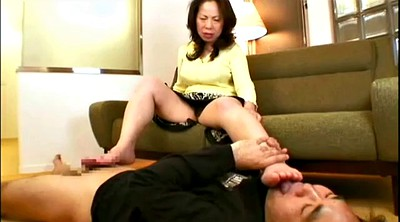 Mature feet, Asian mature