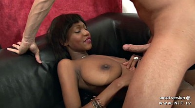 Ebony casting, Ebony boobs