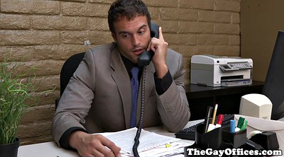 Gay office, Office gay, Gay boss