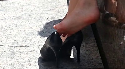 Candid, Sole, Foot high, Heels, Play, High