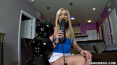Huge dildo, Amy brooke
