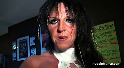 Shop, Busty mom, French mature, Mom mature