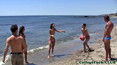 College party, Beach sex