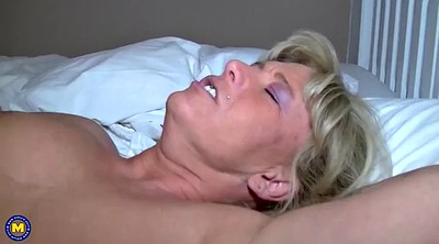 Young mother, Horny milf, Family sex, Old mother
