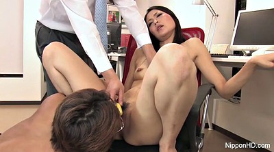 Japanese office, Small, Pussy licking, Vibrator, Japanese secretary, Japanese young
