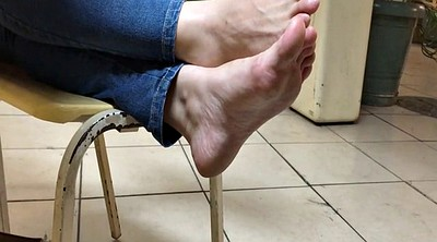 Feet foot, Candid