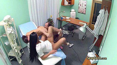 Hospital, Nurses, Amateur threesome