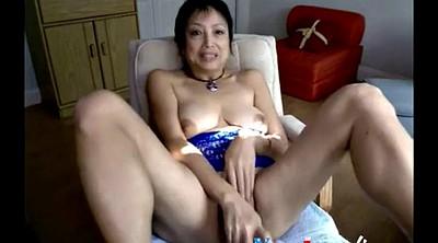 Mature webcam, Granny dildo, Asian webcam, Asian granny, Asian masturbation, Webcam mature