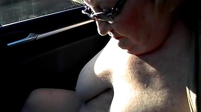 Car, Flashing, Car flashing, Public masturbation, Car masturbation, Granny masturbate