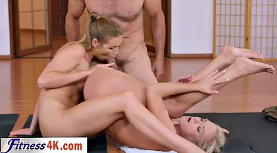 Sport, Threesome, Shaved, Instructor