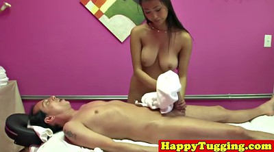 Jerk off, Asian interracial