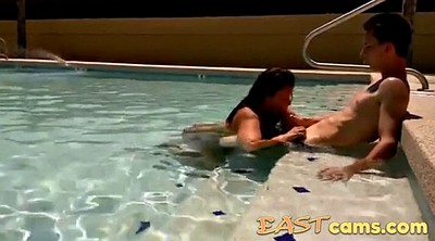 Couple, Asian pool