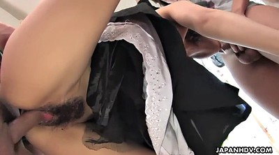Hairy anal, Anal asian