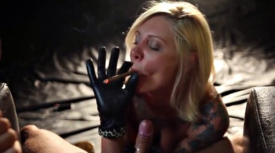 Smoking, Leather gloves