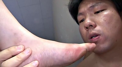 Group sex, Japanese foot, Table, Japanese gangbang