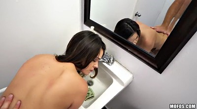 Long hair, Bathroom pov, Bathroom, Showering, Shower public