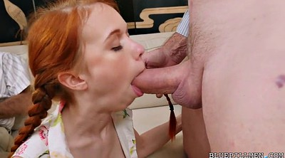 Young old, Young redhead, Granny fuck