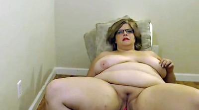 Bbw webcam, Glasses