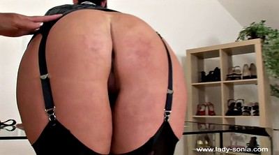 Wife spanked, Spankings, Lady sonia, Hand