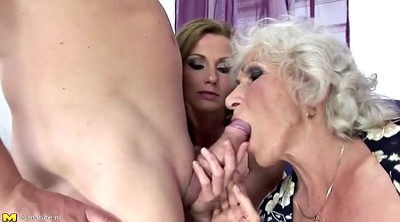 Young boy, Pissing granny, Mature boy