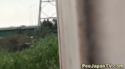 Pissing, Peeing public, Pissing outdoor, Park, Asian piss