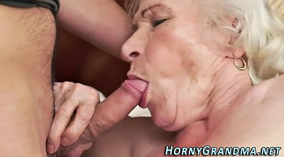 Hairy mature, Grandmother, Hairy blonde