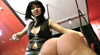 Caning, Whip, Femdom spanking, Femdom caning, Caned