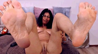 Mature feet, Mature foot, Foot fetish