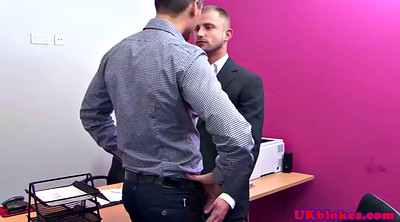 Ass licking, Office gay