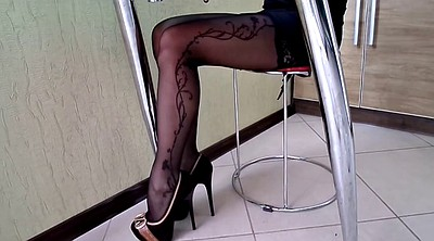 Stockings, High heels, Shoes, Stocking heels, Stockings high heel, High-heeled