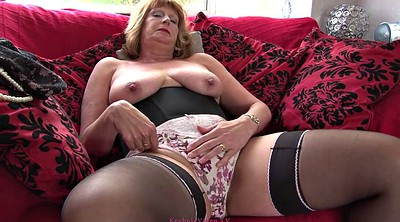 British, Julie, Mature solo, British mature