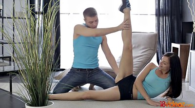 Workout, Young couple