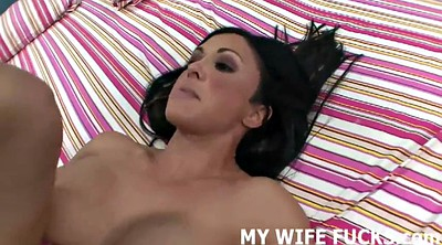 Wife watching