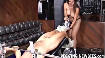 Pegging, Femdom pussy licking