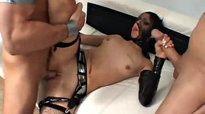 Cum in mouth, Homemade threesome