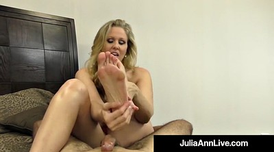 Julia ann, Julia, Mature foot